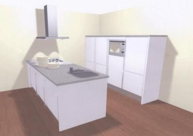 Keuken ontwerpen 3 x 3 meter bekijken keuken ontwerpen 3d - Kleine centrale eiland goedkoop keuken ...