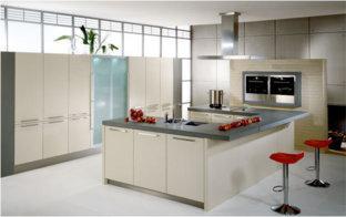 ... vormen zoals een rechte keuken, een L keuken of een U keuken