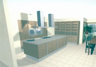 Keuken 5 meter lang for Keuken ontwerpen 3d ipad